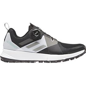 adidas TERREX Two Boa Hardloopschoenen Dames wit/zwart